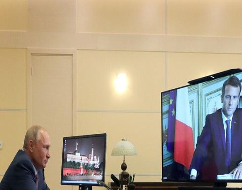 بوتين وماكرون يدعوان لوقف إطلاق النار في قره باغ
