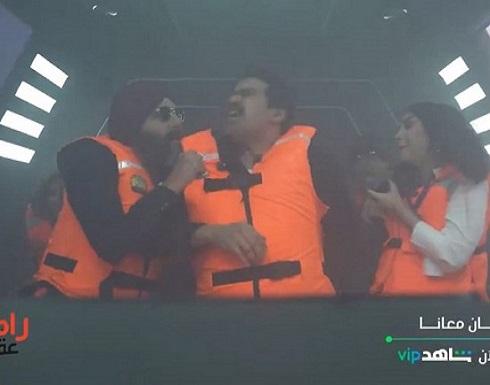 """""""رامز عقله طار"""" شاهد: صراخ وانهيار الفنان """"إسلام إبراهيم"""" داخل الكبسولة!"""