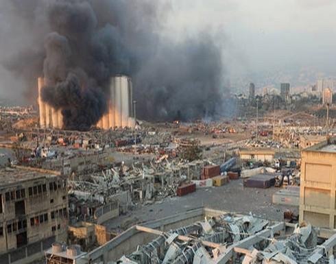 مسؤول إسرائيلي: لا علاقة لإسرائيل بانفجار بيروت