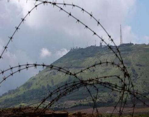 اسرائيل : تصفية خلية حاولت زرع الغام في سوريا