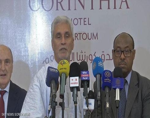 """المبعوث الأفريقي يلتقي """"الحركات المسلحة"""" لدعم اتفاق السودان"""