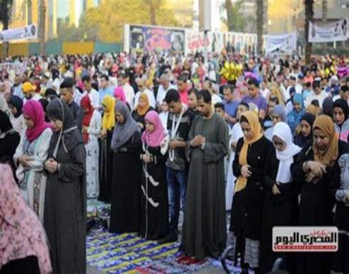 """بالفيديو : صلاة عيد """"مختلطة"""" في مصر تثير جدلا.. والأوقاف تعلق"""