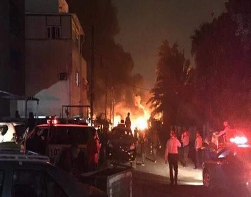 قتلى وجرحى بتفجير سيارة مفخخة في حي الكرادة وسط بغداد (فيديو)