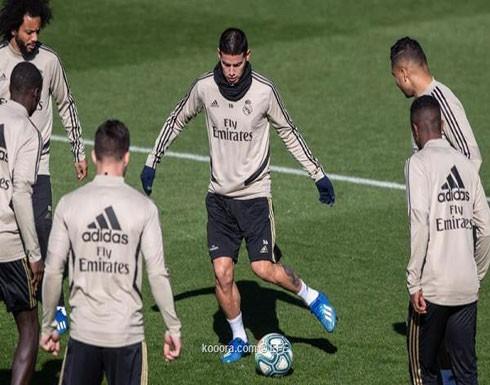 ثنائي ريال مدريد يعود للقائمة أمام ليفانتي
