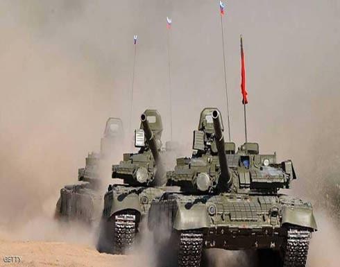 العراق يتسلم 36 دبابة من روسيا