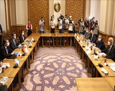 الخارجية المصرية تعلن بدء اللقاء مع الوفد التركي في القاهرة