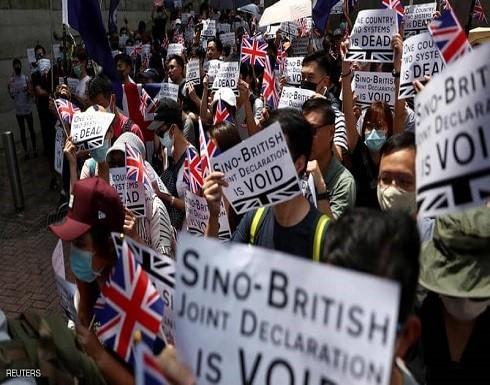 آلاف المتظاهرين يتحدون الشرطة في هونغ كونغ