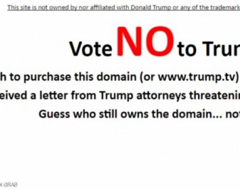 """""""تلفزيون ترامب """" يحرض ضده"""