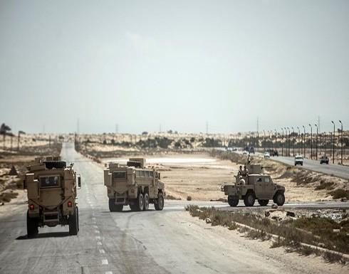 مقتل ضابط وأمين شرطة مصريين برصاص مسلحين جنوب سيناء