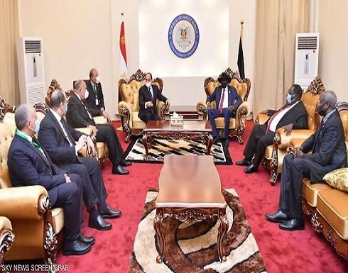 """من جنوب السودان.. السيسي يحدد رؤية مصر لـ""""مستقبل النيل"""""""