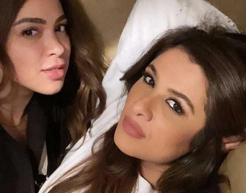 ياسمين حلاوة ابنة ياسمين عبدالعزيز تخطف الانظار في اول ظهور لها!