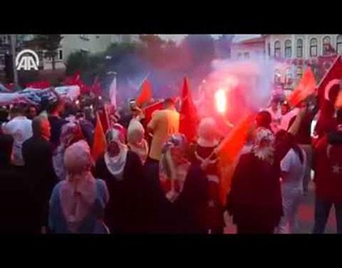 فيديو : احتفالات جماهيرية في أنقرة بفوز أردوغان بالانتخابات