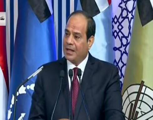 السيسي للضباط المصريين: من لا يمتلك جيشا وطنيا وسلاحا عصريا لا يملك أمنا