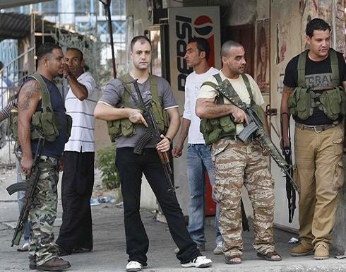 اتفاق على سحب المسلحين من أحياء مخيم عين الحلوة