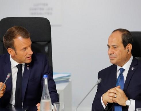 السيسي يسعى لتعزيز التعاون التجاري مع شركات فرنسية