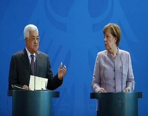 عباس لميركل: ماضون بإجراء الانتخابات في جميع الأراضي الفلسطينية