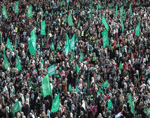"""""""حماس"""" تحتفل بذكرى تأسيسها بمهرجان جماهيري في غزة"""