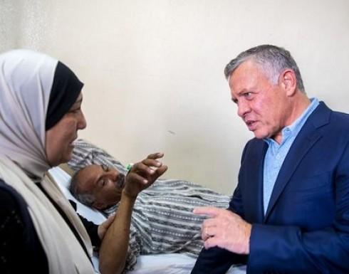 الملك عبدالله : صحة المواطن من أهم الأولويات - صور من زيارته للبشير