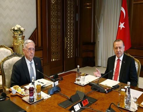 أردوغان وماتيس يؤكدان أن قرار إقليم كردستان العراق إجراء استفتاء على الاستقلال خاطئ