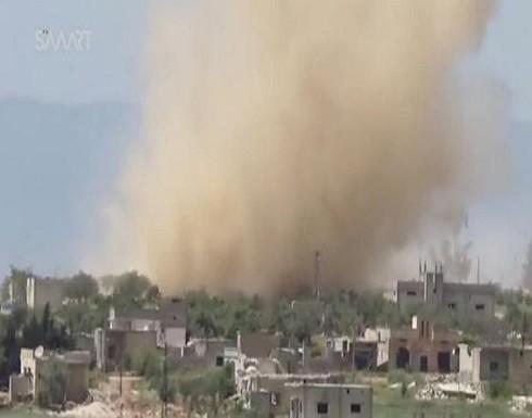 قصف جوي ومعارك بشمال غرب سوريا يخلف 35 قتيلاً