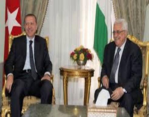 عباس يهنئ أردوغان بنجاح العملية الديمقراطية وفوزه بالانتخابات