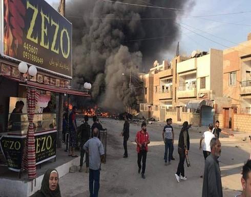 قتلى وجرحى بتفجيرات في السوق العام بالقامشلي شمال شرقي سوريا - فيديو