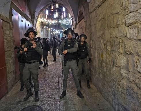 انسحاب جيش الاحتلال من الأقصى وإعادة فتح المصلى القبلي