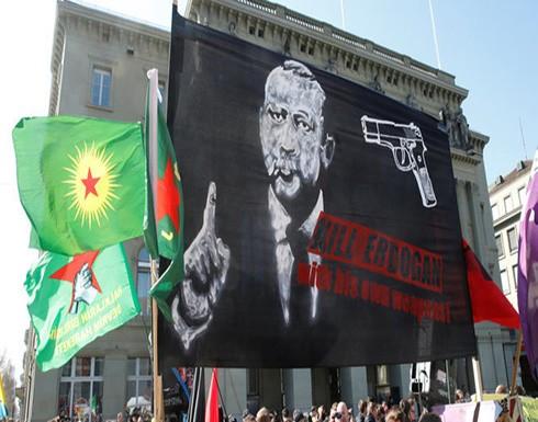 يافطات تدعو لقتل أردوغان وتركيا تستدعي نائب السفير السويسري
