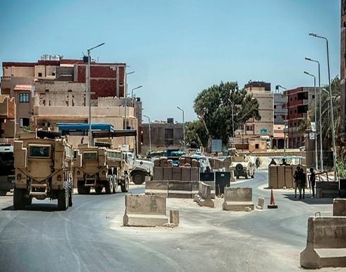 الطيران المصري يشنّ غارات على محافظة شمال سيناء