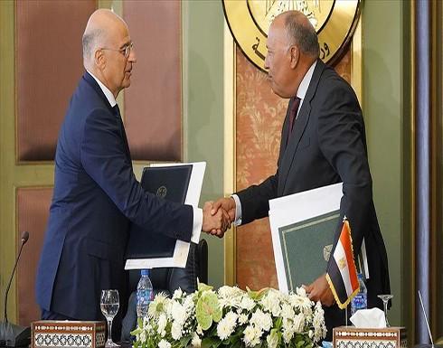 """اتفاق يوناني مصري على استكمال """"مفاوضات شرق المتوسط"""""""