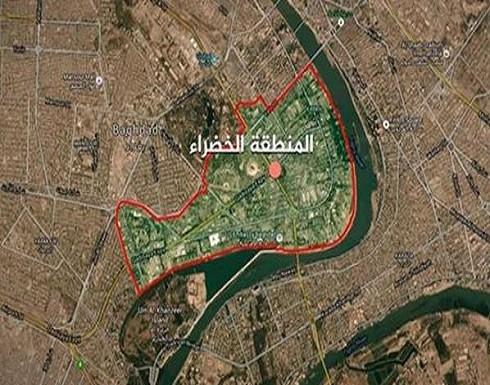 هجوم صاروخي على المنطقة الخضراء في العراق