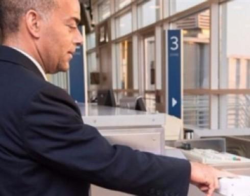 استعمال بصمات الأصابع بدلاً من تذاكر الصعود في المطارات