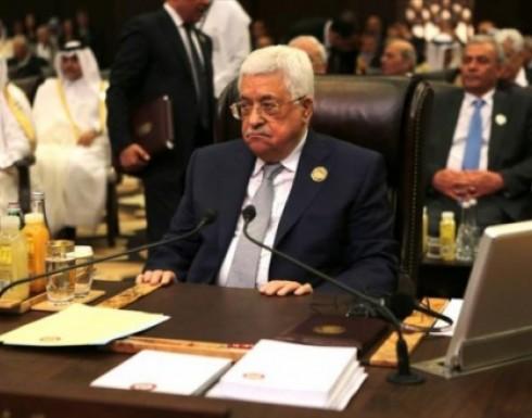 """عباس: إسرائيل أقامت نظاما عنصريا قائم على """"دولة واحدة بنظامين"""""""