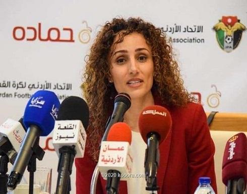 سمر نصار تستبعد إلغاء الدوري الأردني