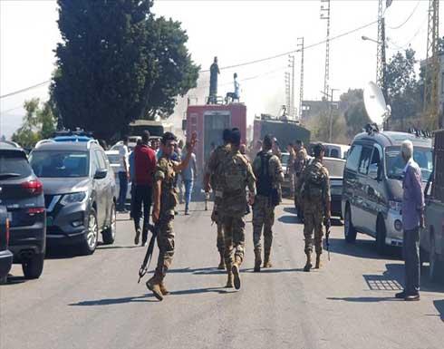 أزمة الوقود.. الجيش يتدخل لإنهاء أعمال عنف في بلدتين جنوبي لبنان