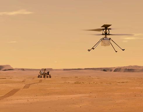 المركبة الفضائية برسيفيرانس خلال هبوطها على المريخ .. صور