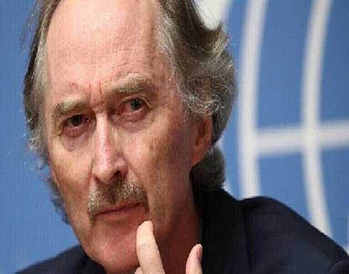 """بيدرسون: مسيرة الصراع في سوريا """"كارثية"""""""