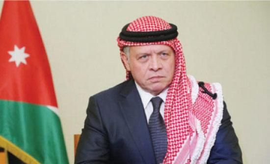 الملك عبدالله الثاني يعزي الرئيس التركي بضحايا الزلزال