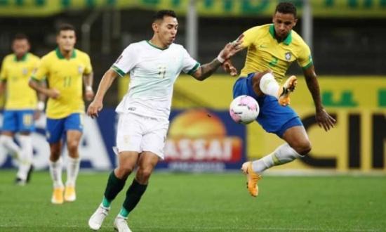 البرازيل تسحق بوليفيا بخمسة أهداف في بداية مشوارها بتصفيات كأس العالم