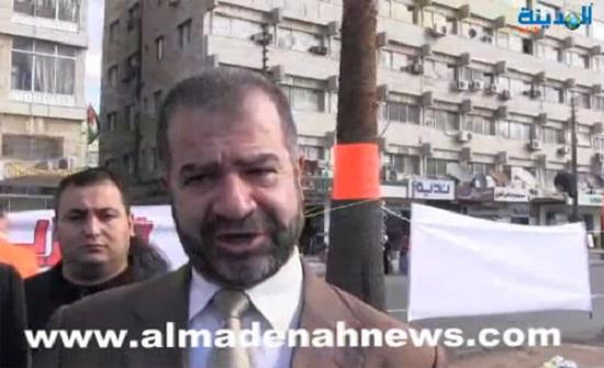 ابو السكر : نبحث عن مصادر تمويل بلدية الزرقاء