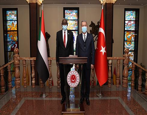 أكار يبحث مع نظيره السوداني قضايا ثنائية وإقليمية