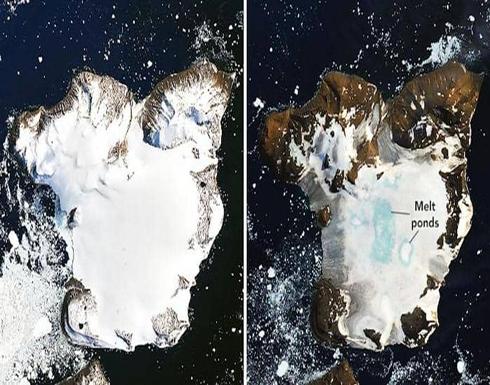 """بصورتين.. ناسا ترصد الكارثة الحقيقية في """"قعر الأرض"""""""