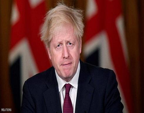 جونسون يدعو البريطانيين لالتزام المنازل