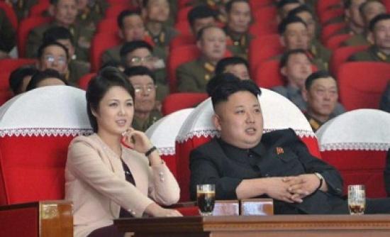 ظهور نادر لزوجة زعيم كوريا الشمالية