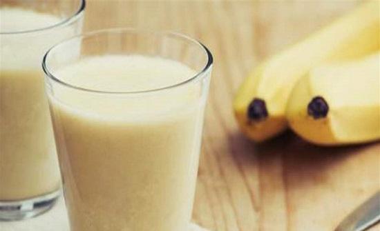 تناولوا عصير الموز واخسروا وزنكم!