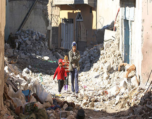 عائلة  من الموصل  عاشت حوالي شهر تحت أنقاض  منزلها بعد  قصفه