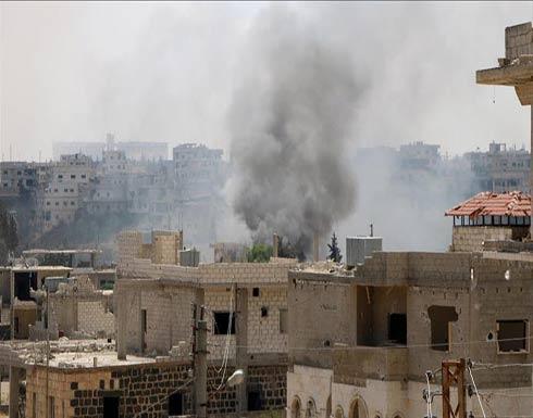 """للمرة الأولى منذ """"خفض التصعيد"""".. غارات على مواقع للمعارضة في درعا"""