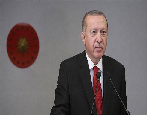 """أردوغان: علاقة """"بي كا كا"""" و""""أنتيفا"""" الإرهابيتين أمر له دلالات"""
