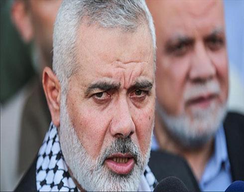 """هنية يطرح """"مقاربة"""" لإنهاء الانقسام الفلسطيني"""