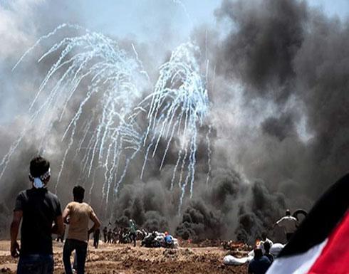 إصابات بغزة بمليونية العودة ومسيرات بالضفة والداخل (صور)